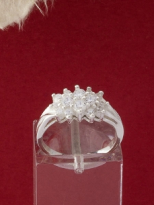 Сребърен пръстен - R409