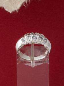 Сребърен пръстен - R414