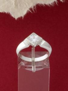 Сребърен пръстен - R427