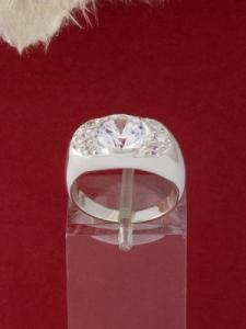 Сребърен пръстен - R428