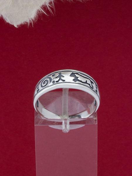 Сребърен пръстен - R448