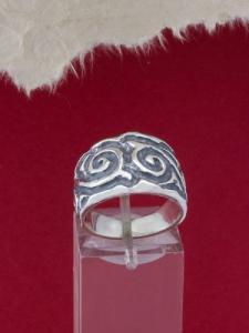 Сребърен пръстен - R458