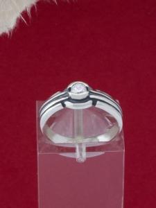 Сребърен пръстен - R464