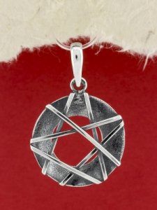 Сребърен медальон - SPK30
