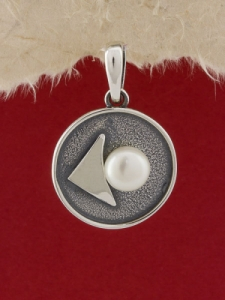 Сребърен медальон - SPK31