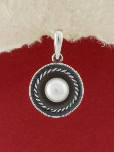 Сребърен медальон - SPK71