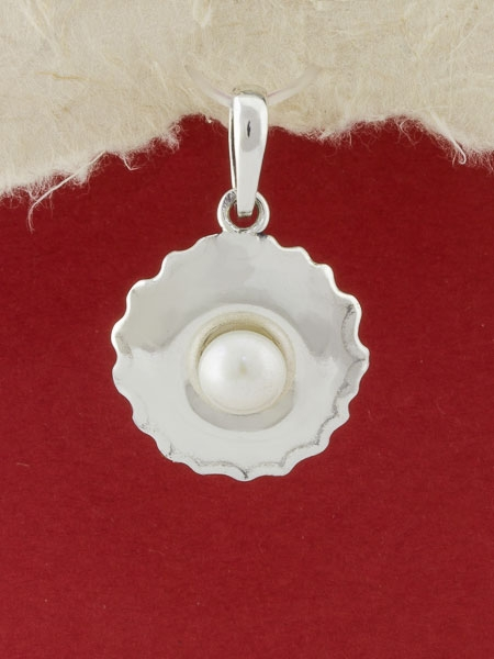 Сребърен медальон - SPK75