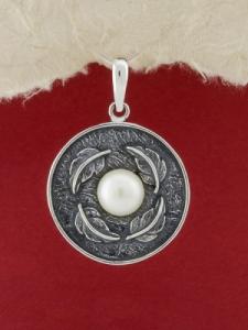 Сребърен медальон - SPK76