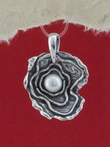 Сребърен медальон - SPK77