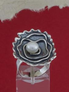 Сребърен пръстен - SRK77