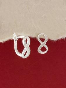 Сребърни обици - E518S