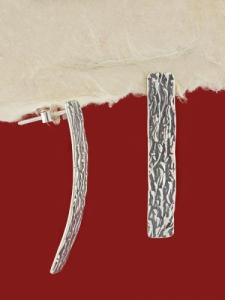 Сребърни обици - E137