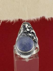 Сребърен пръстен - RK381 - Лепидолит