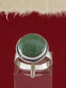 Сребърен пръстен - RK380 - Авантюрин