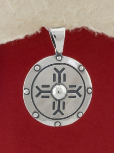 Сребърен медальон - P263