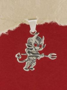 Сребърен медальон - P410