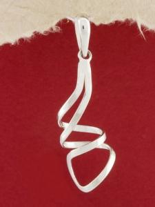 Сребърен медальон - PK245