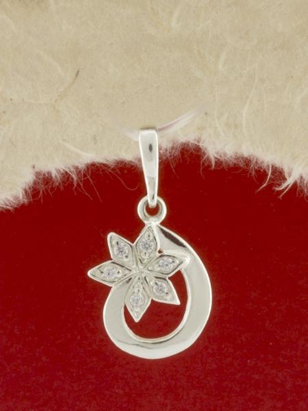 Сребърен медальон - P186458