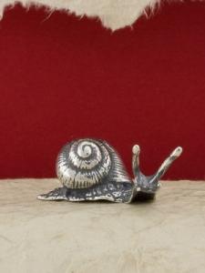 Сребърна фигура - Охлюв