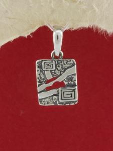 Сребърен медальон - E44P