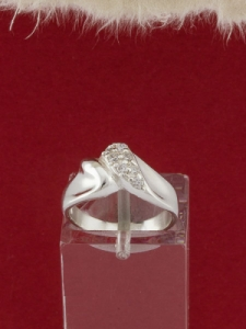 Сребърен пръстен - R466