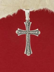 Сребърен медальон - P184