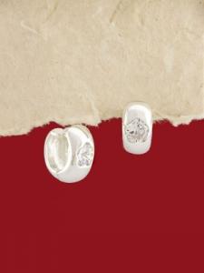 Сребърни обеци - E139