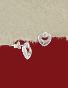Сребърни обеци - E129