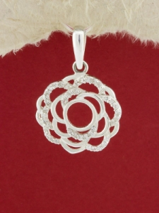 Сребърен медальон - P275