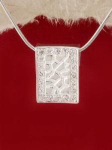 Сребърен медальон - M276S