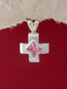 Сребърен медальон - M038S