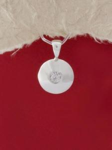 Сребърен медальон - M104S