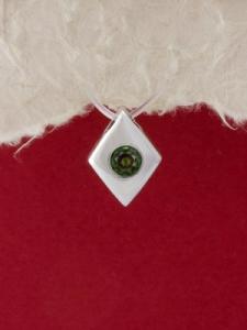 Сребърен медальон - M110S