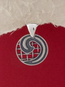 Сребърен медальон - M328S