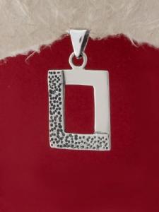 Сребърен медальон - M590S