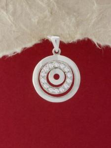 Сребърен медальон - ME260