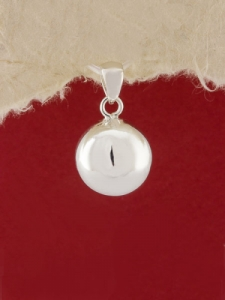 Сребърен медальон - PH100S - 13mm