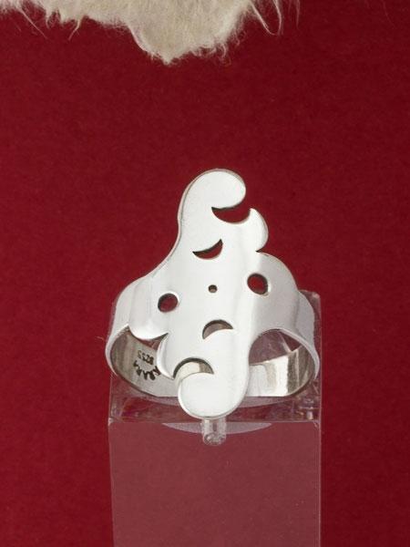 Сребърен пръстен - MR10