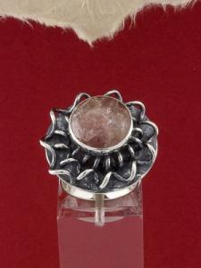 Сребърен пръстен - RKWS114 - Малинов Ахат