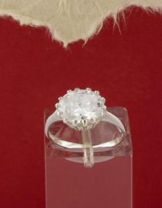 Сребърен пръстен - R248