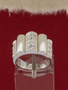 Сребърен пръстен - R062S