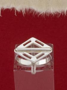 Сребърен пръстен - R625S