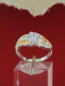 Сребърен пръстен - RK0284.10