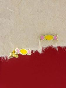 Сребърни обици със златно родиево покритие - E-ASGS925-0001.G
