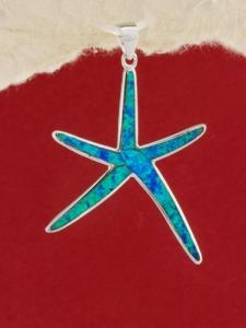Сребърен медальон с родиево покритие - P-TOPM-0102