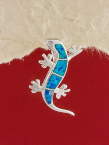 Сребърен медальон с родиево покритие - P-TOPM-0104