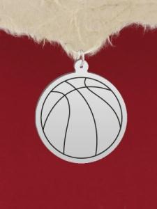 Сребърена баскетболна топка - GR8