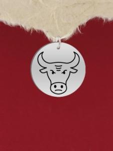 Сребърен медальон за гравиране - GR10