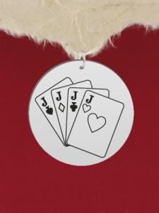 Сребърен медальон за гравиране - GR11