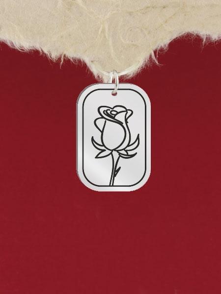 Сребърен медальон за гравиране - GR13